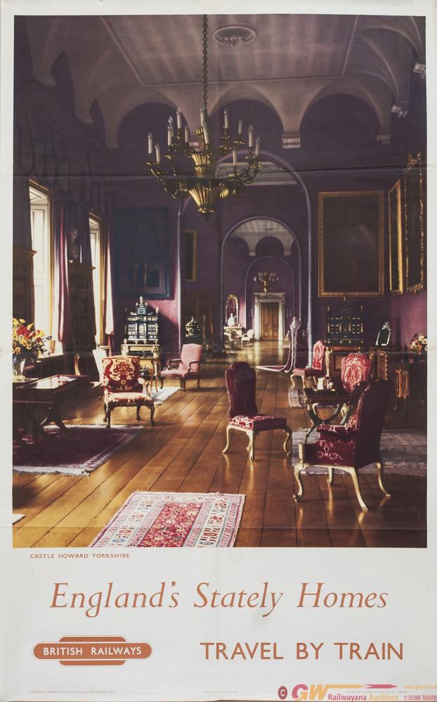 Poster BR(NE) ENGLAND'S STATELY HOMES CASTLE