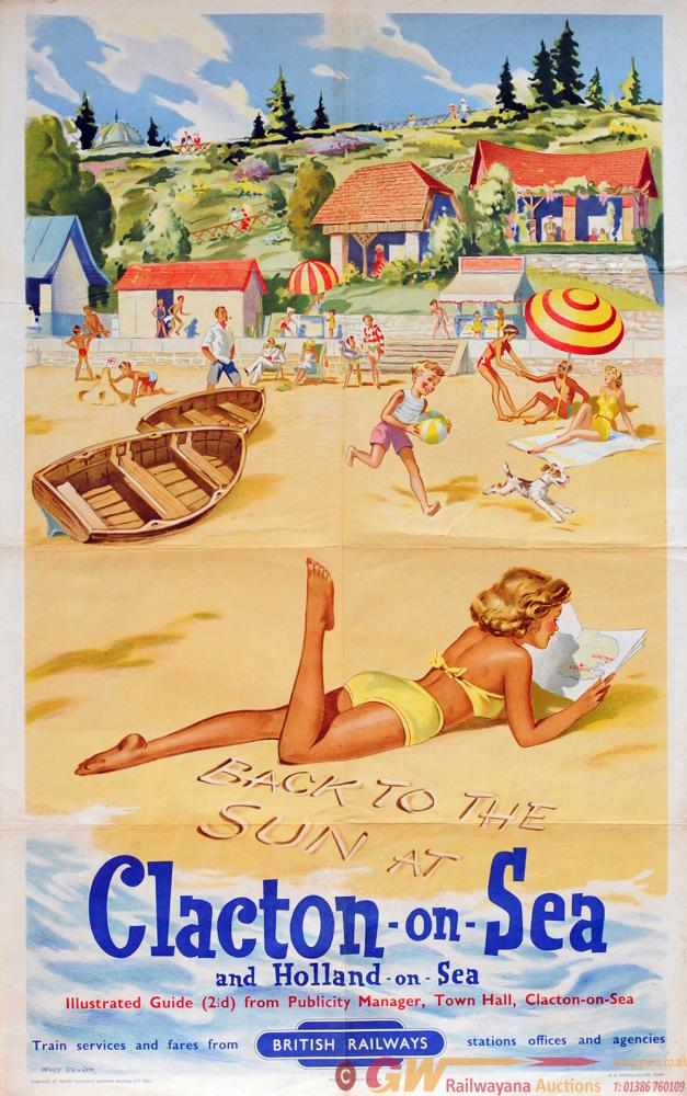 Poster 'Clacton-On-Sea And Holland-On-Sea' By