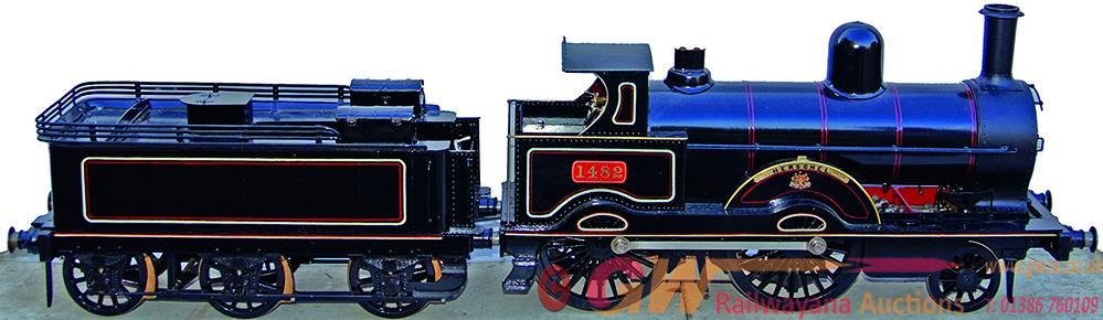 Live Steam,  5 Gauge LNWR 'Precedent' Class Number