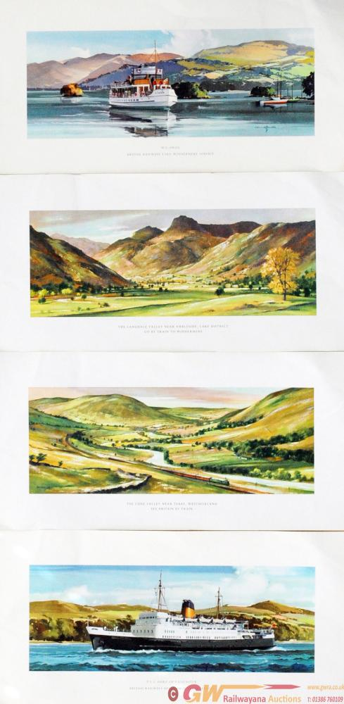 Loose Carriage Prints - Qty 4 Comprising: The