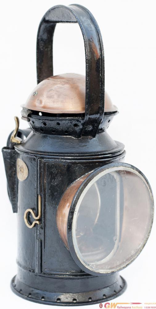 GWR 3 Aspect Coppertop Handlamp With Original