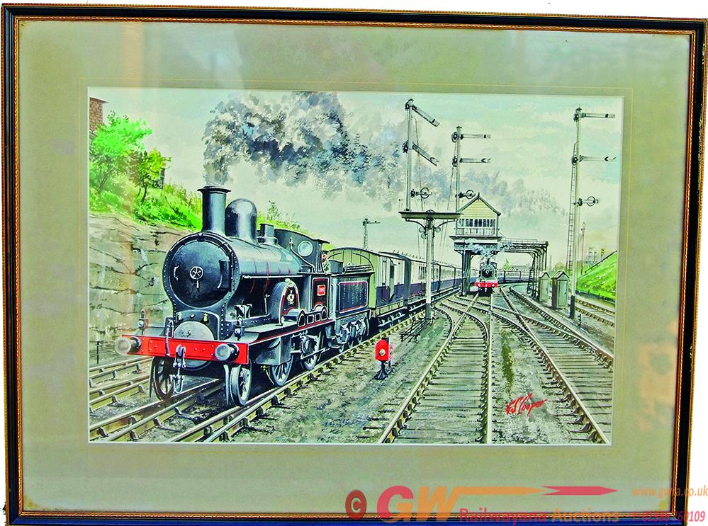 Original Water Colour Paintings By G.S. Cooper Of