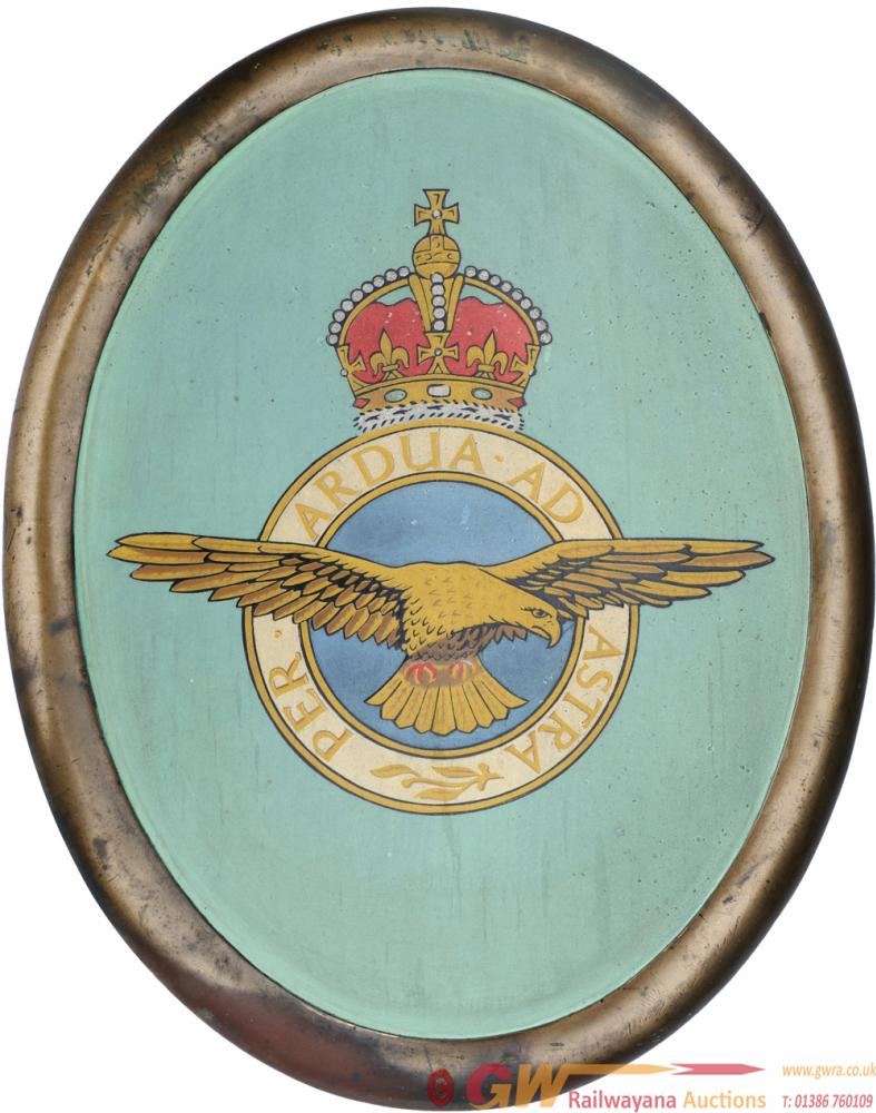 Battle Of Britain Class Locomotive Nameplate Crest