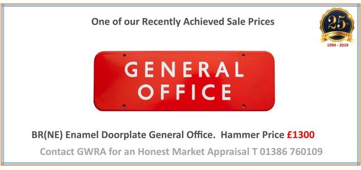 UK Railwayana Memorabilia Live & Online Auction Specialists -