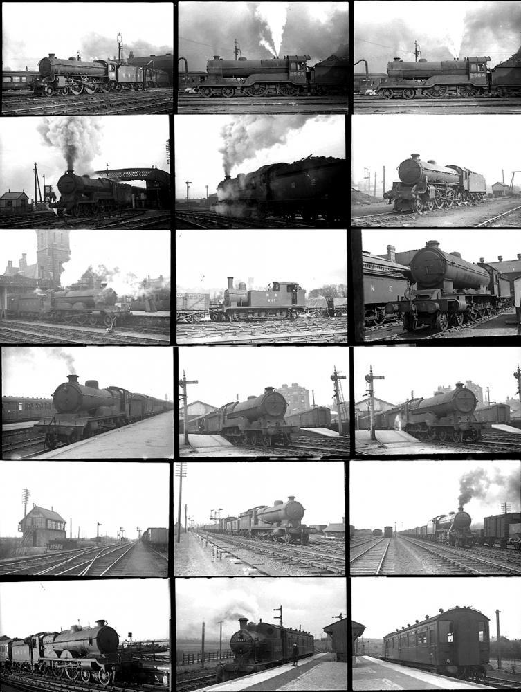 Approximately 104 35mm Negatives. Taken In 1947