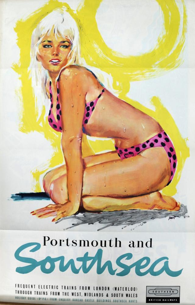 BR Poster, 'Portsmouth And Southsea - Frequent