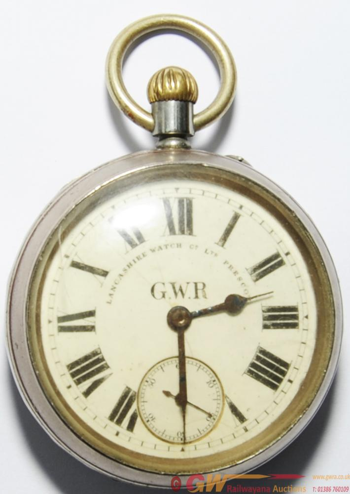 GWR Pocket Watch Manufactured By The Lancashire