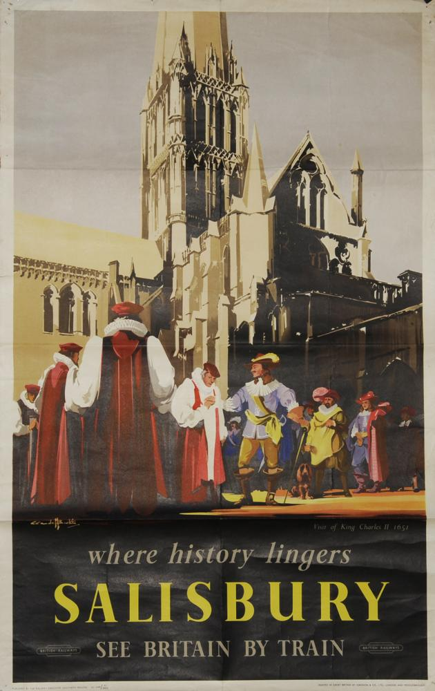 Poster BR 'Salisbury - Where History Lingers -