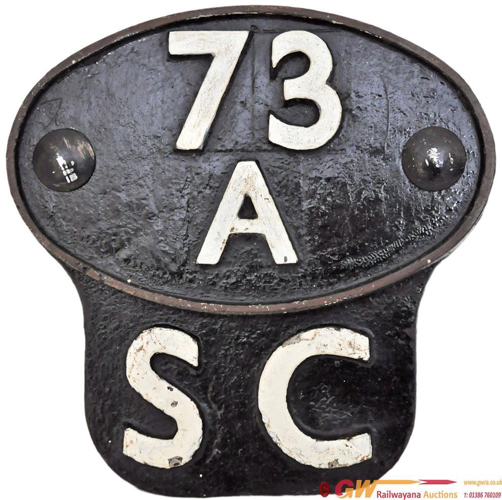 Shedplate 73a Stewarts Lane 1950-1962 Complete