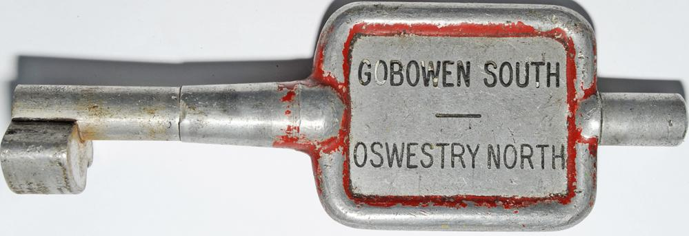 Single Line Alloy Key Token GOBOWEN SOUTH -