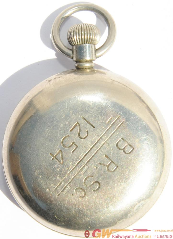 LNER Pocket Watch Re-Numbered BRSc 1254 On The
