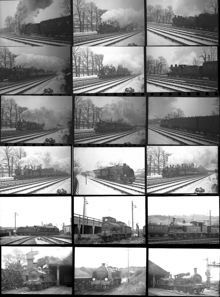 Approximately 150 35mm Negatives. Taken In 1938/39
