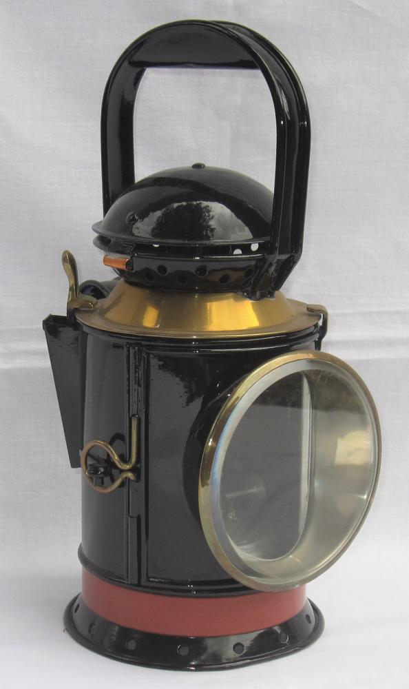 GWR 4 Aspect Fog Man's Hand Lamp Complete With