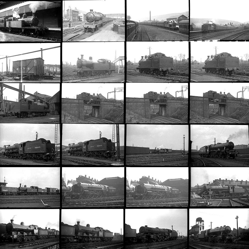 Approximately 77 35mm Negatives. Taken In 1951