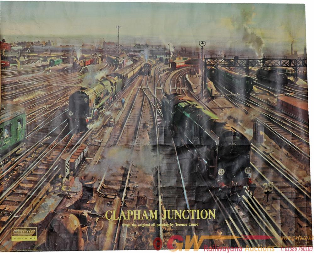 Poster British Railways  'Clapham Junction' By