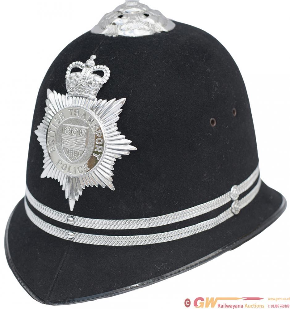 British Transport Police Inspectors Helmet, Marked