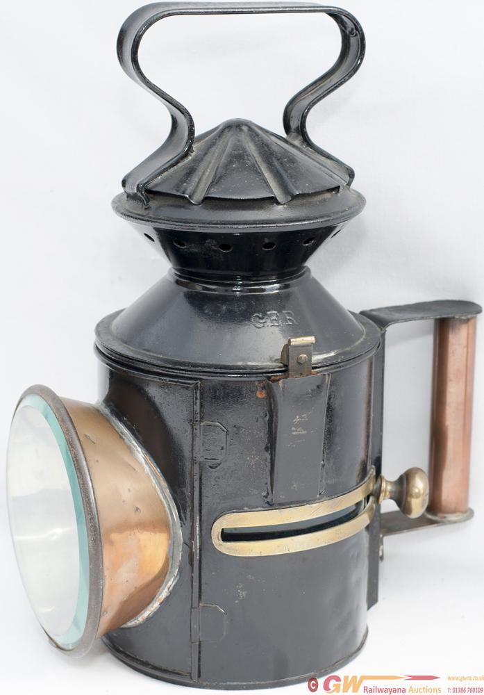 GER 3 Aspect Sliding Knob Handlamp Stamped GER In