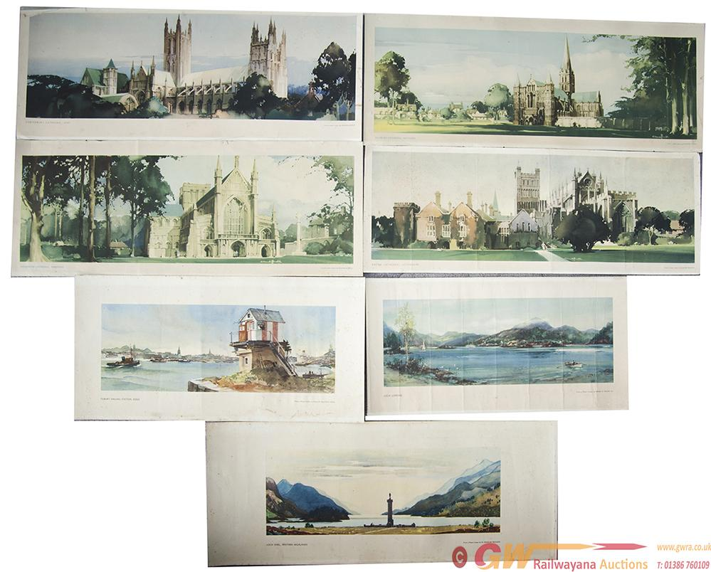 Original Carriage Prints x7, All Removed From