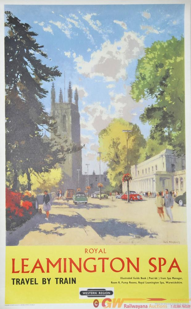 Poster British Railways 'Leamington Spa' By Jack