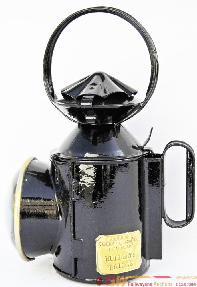 LNER Handlamp With Bullseye Front Lens, Brass