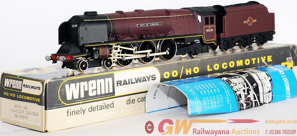 Wrenn 00 Gauge Model Locomotive w2226 am2 Stanier