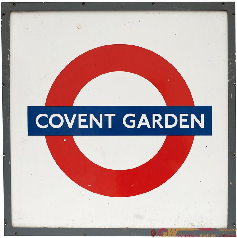 LT Enamel Target COVENT GARDEN In Original