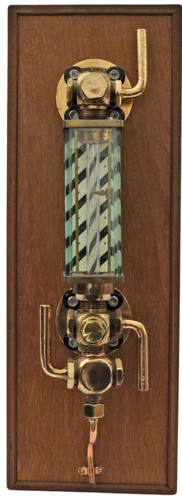 Original Glass Boiler Gauge With Toughened Glass