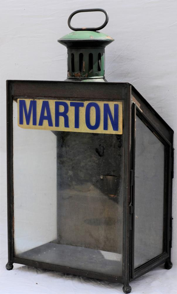 LNWR Style STATION LAMP. Complete With Station
