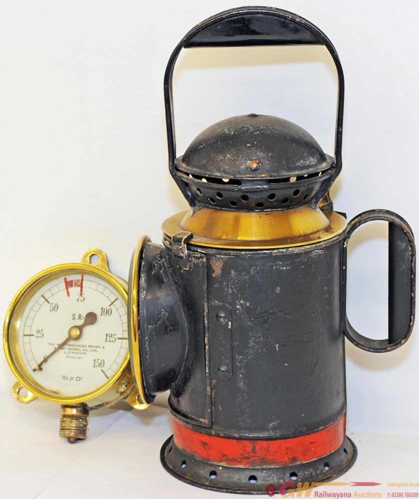 GWR 4 Aspect Fogman's Handlamp Complete With All