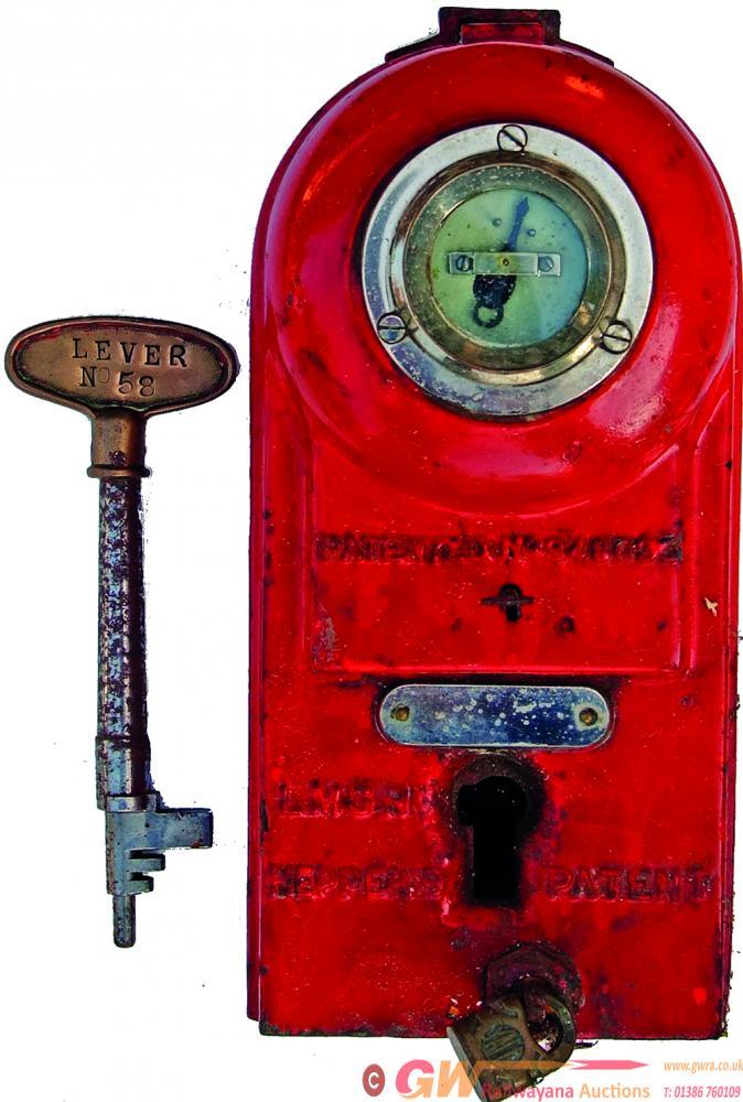 Irish Railways LMSR Heppers Key Machine Complete