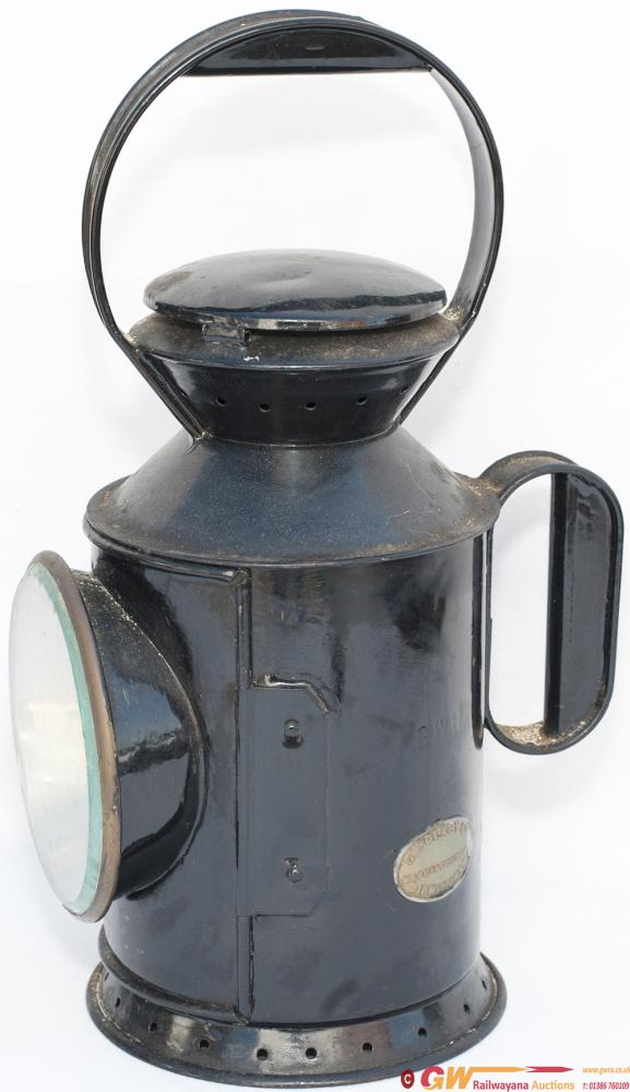 GWR Porters Handlamp Stamped In The Side GWR,