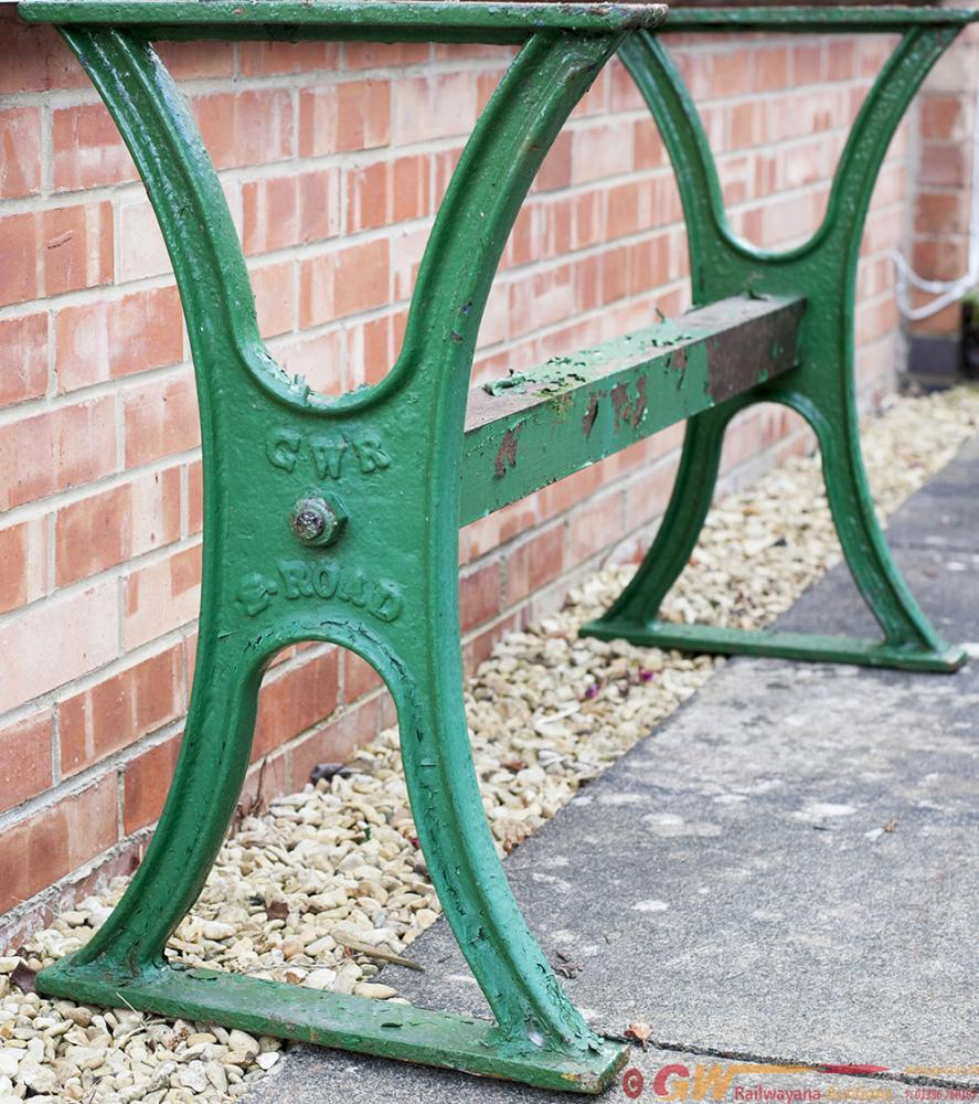 GWR Cast Iron Work Bench Ends Complete With