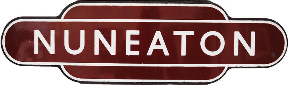 Totem BR(M) NUNEATON, F/F. Ex L&NWR West Coast