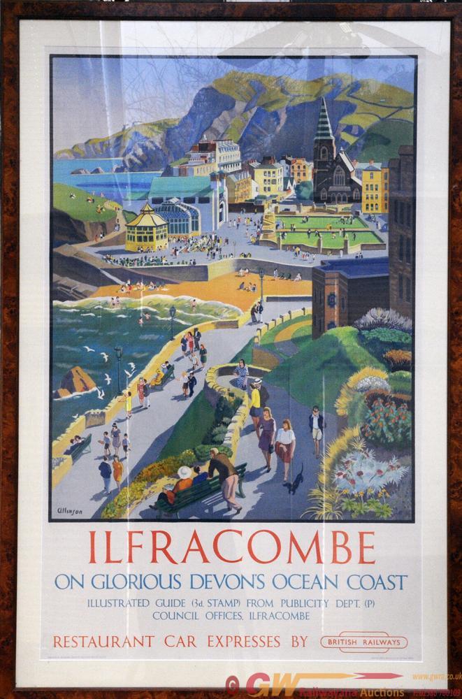 Poster British Railways 'Ilfracombe On Glorious