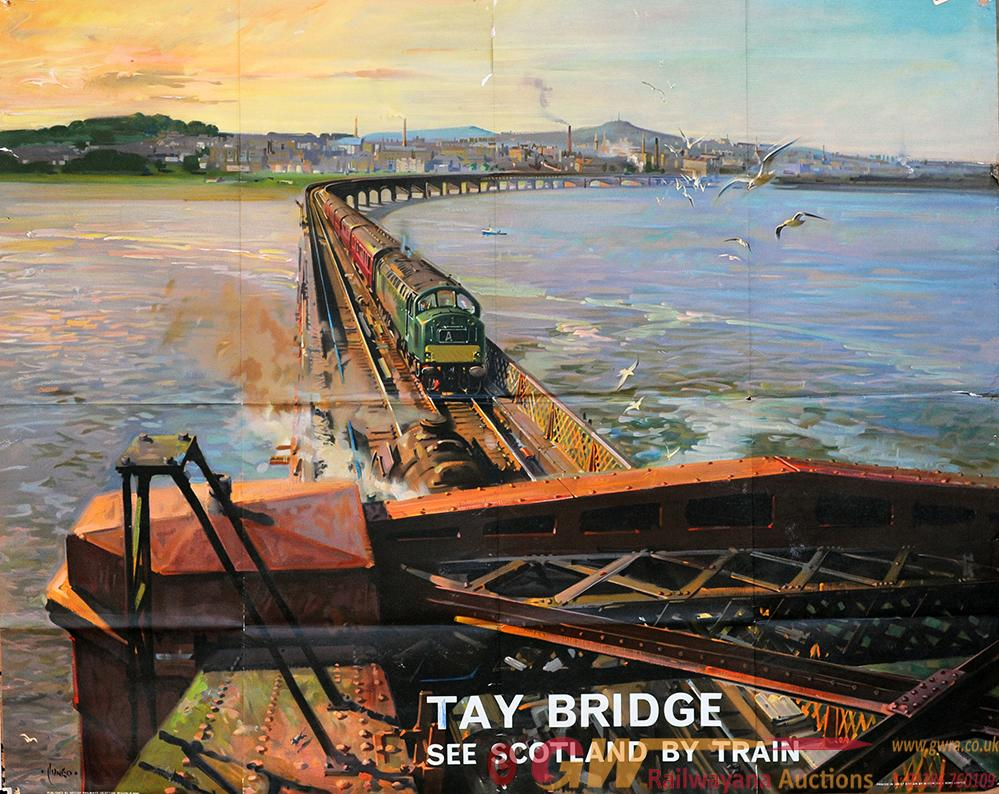 Poster British Railways 'Tay Bridge - See Scotland