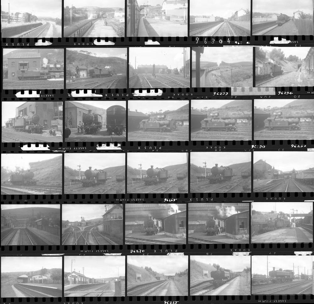 Approximately 115, 35mm Negatives. Includes South