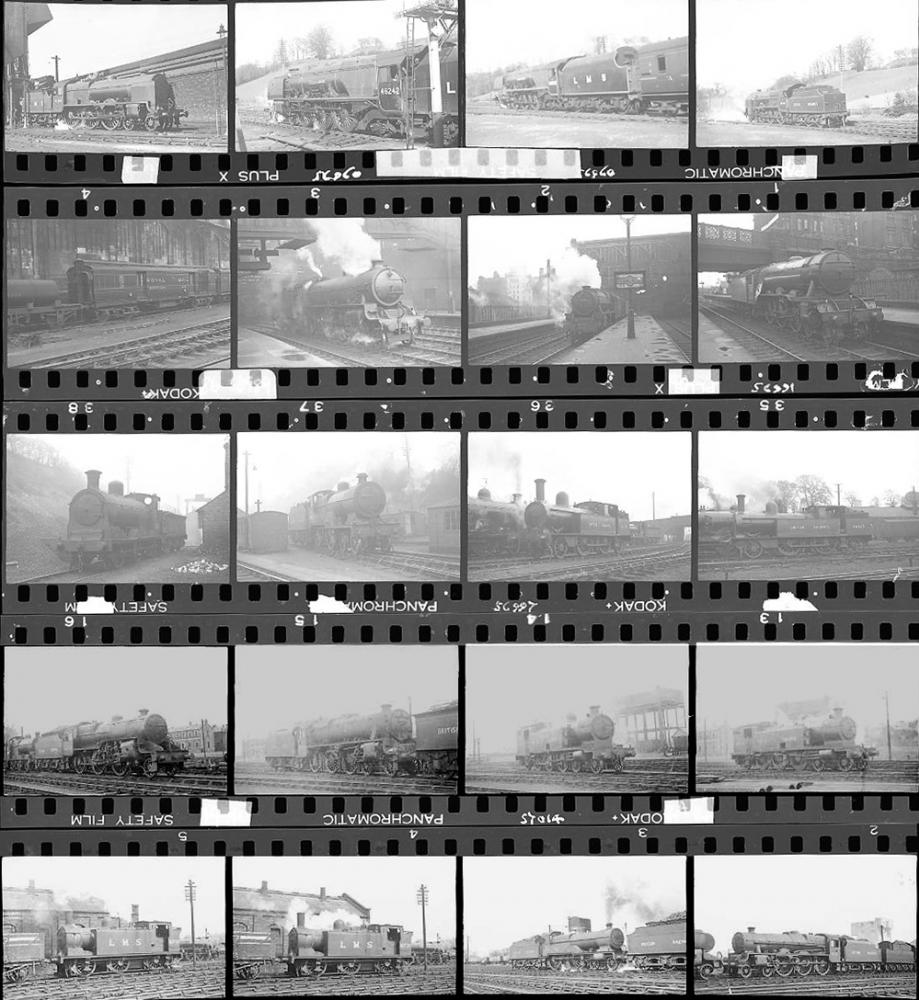 Approximately 112, 35mm Negatives. Includes