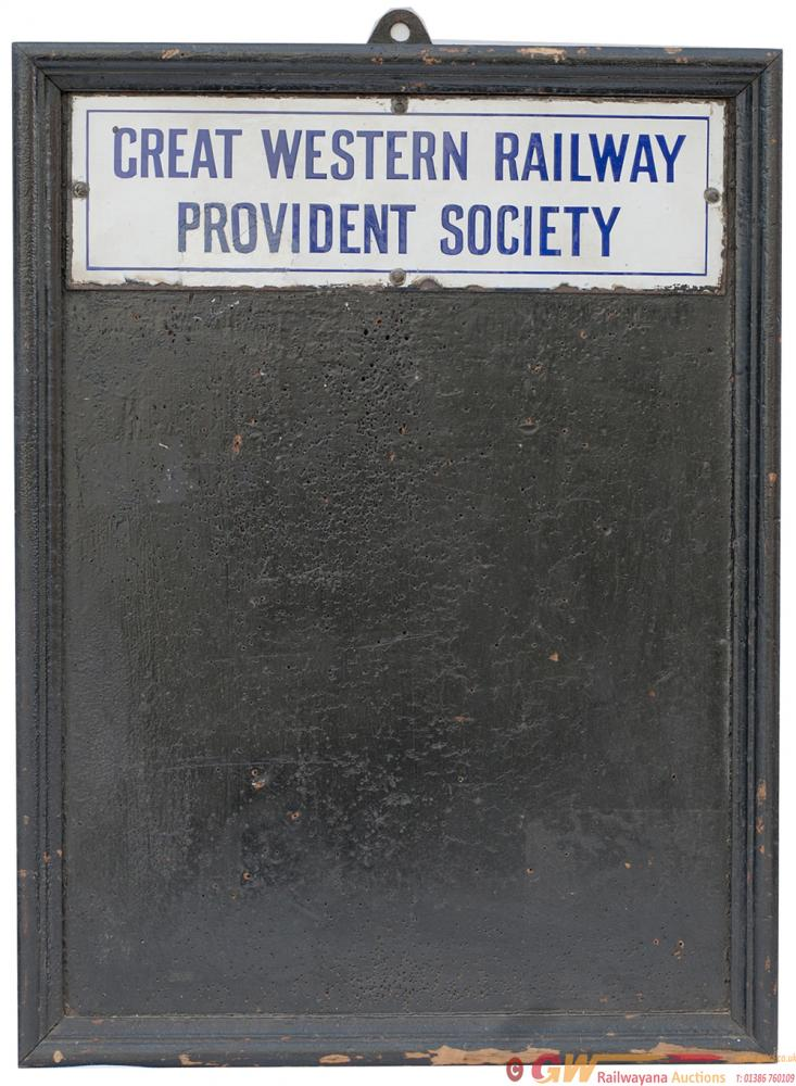 Great Western Railway Poster Board Complete With