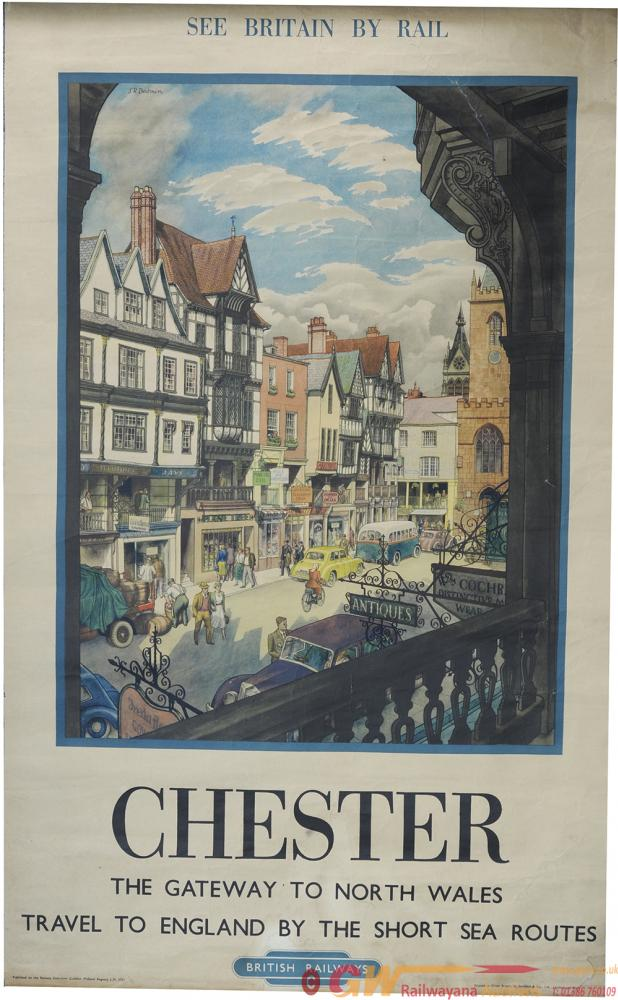 Poster BR 'Chester - The Gateway To North Wales'