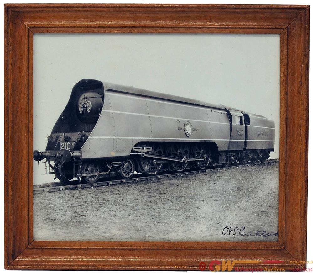 Signed Photograph Of 21C1 In Original Frame That