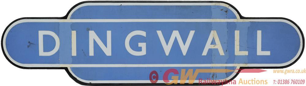 Totem BR(Sc) DINGWALL, F/F. Ex Highland Railway