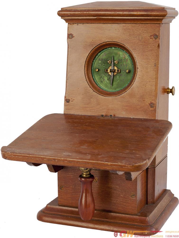 GNR Mahogany Cased Single Needle Telegraph