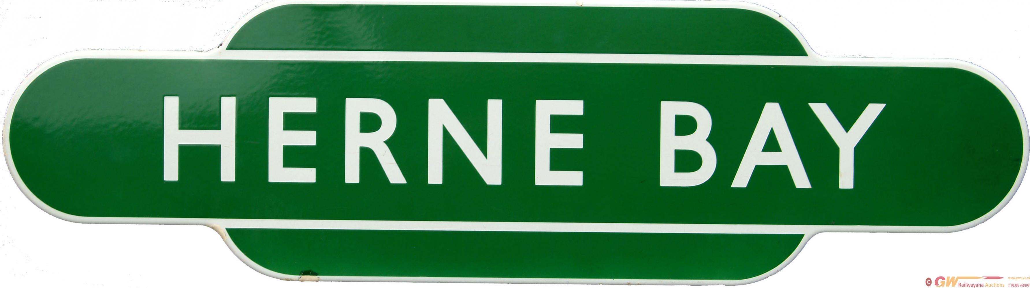 Totem, BR(S) HERNE BAY, F/F Dark Green Variety. Ex