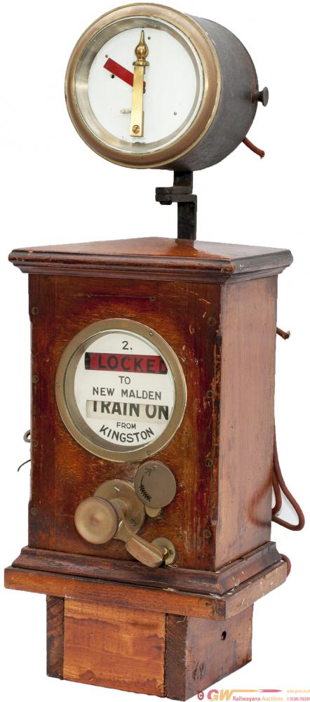 LSWR Sykes Lock And Block Signal Box Instrument