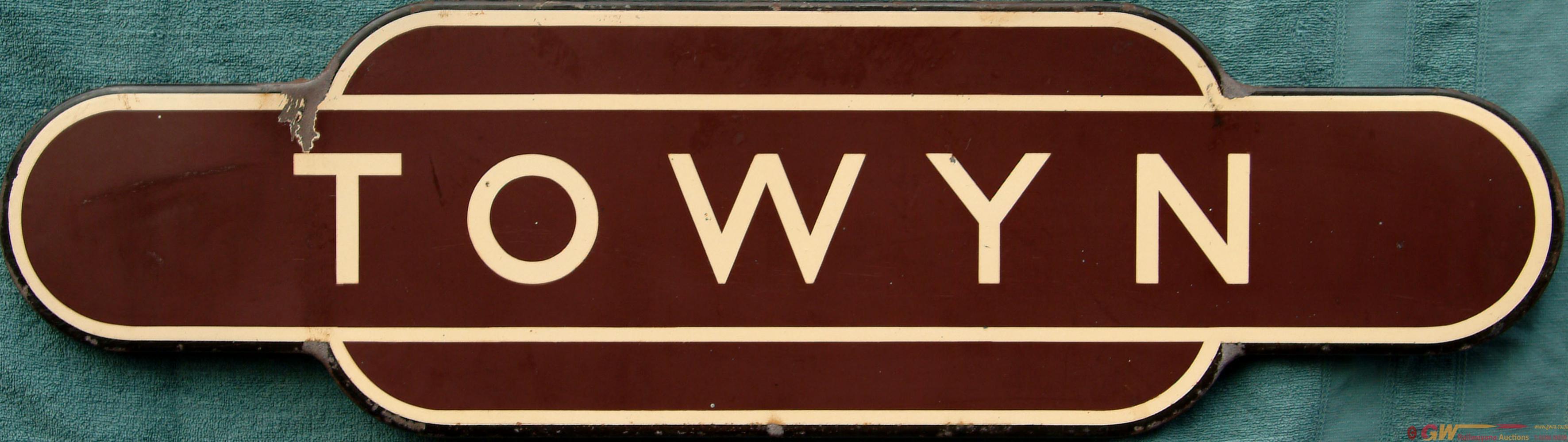 Totem BR(W)  TOWYN, F/F. Ex Cambrian Railways