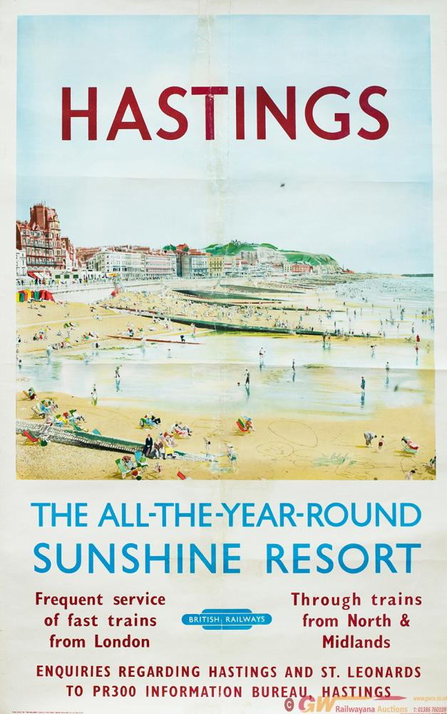 Poster BR HASTINGS THE ALL YEAR ROUND SUNSHINE