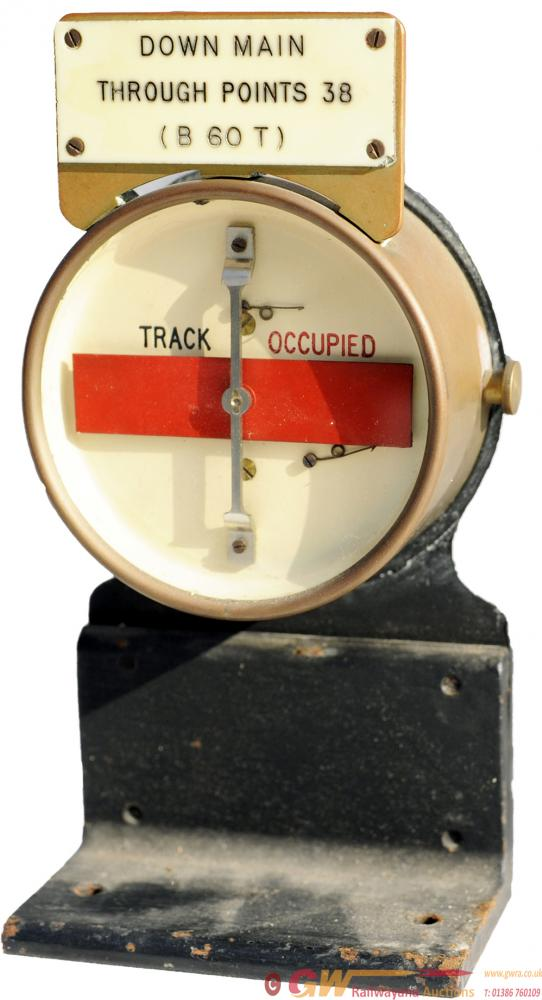 GWR 5 Diameter Brass Cased Track Occupied/Clear
