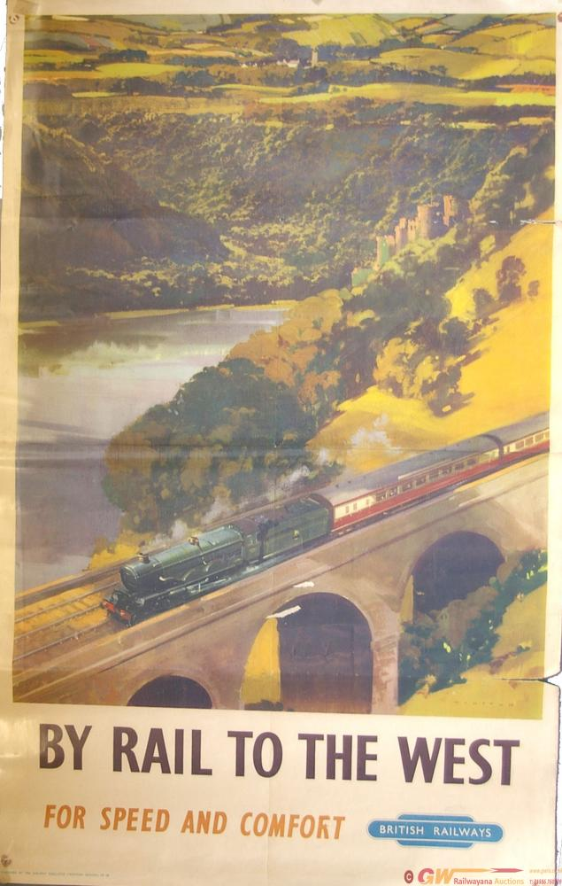 Poster, British Railways(W) D/R Size 'By Rail To