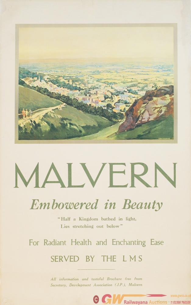 Poster LMS 'Malvern - Embowered In Beauty - Half A