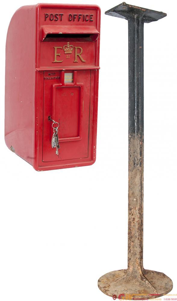 Post Office POST BOX, An Original 1950's Lamp Box
